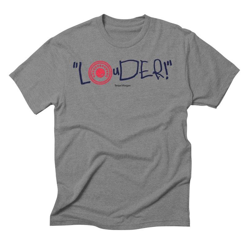 Louder Video T-shirt Men's T-Shirt by Tanya Morgan's Merch Shop