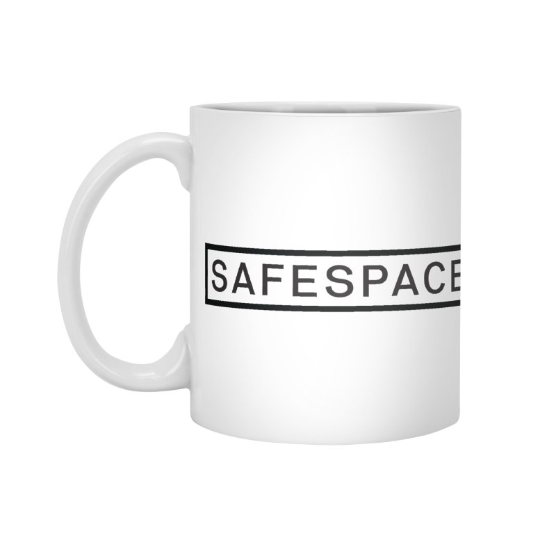 SAFESPACE Accessories Standard Mug by Tanya Morgan's Merch Shop