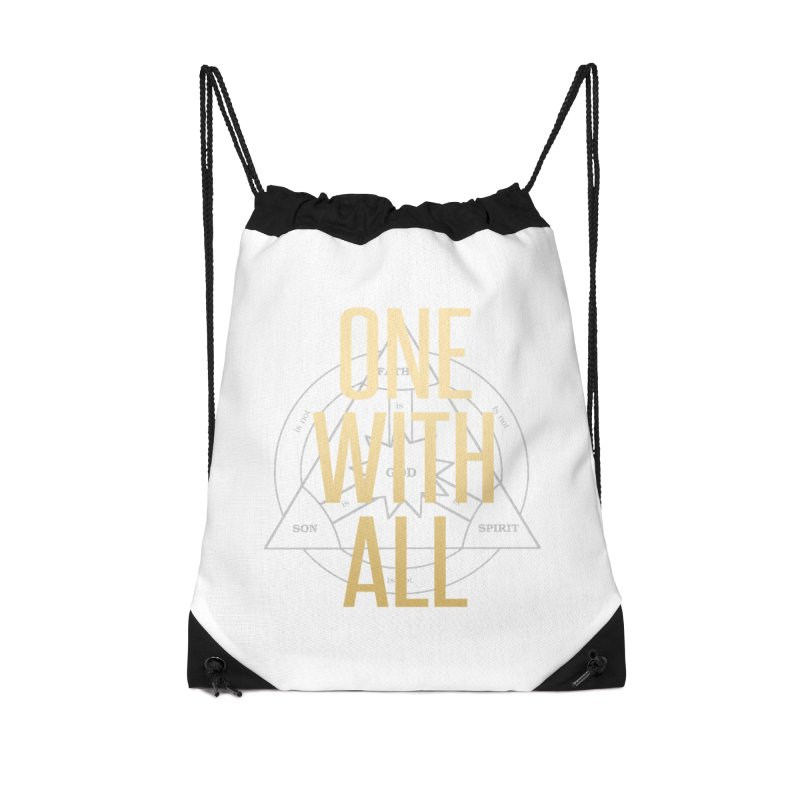 ONE WITH ALL Accessories Bag by tapintunein's Artist Shop