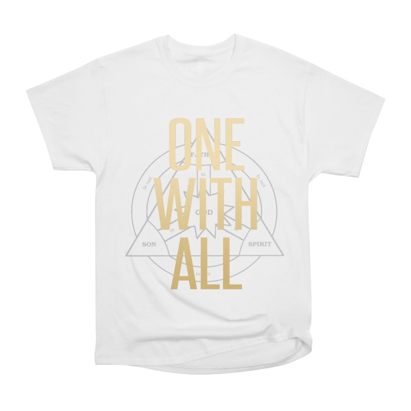 ONE WITH ALL Men's Heavyweight T-Shirt by tapintunein's Artist Shop