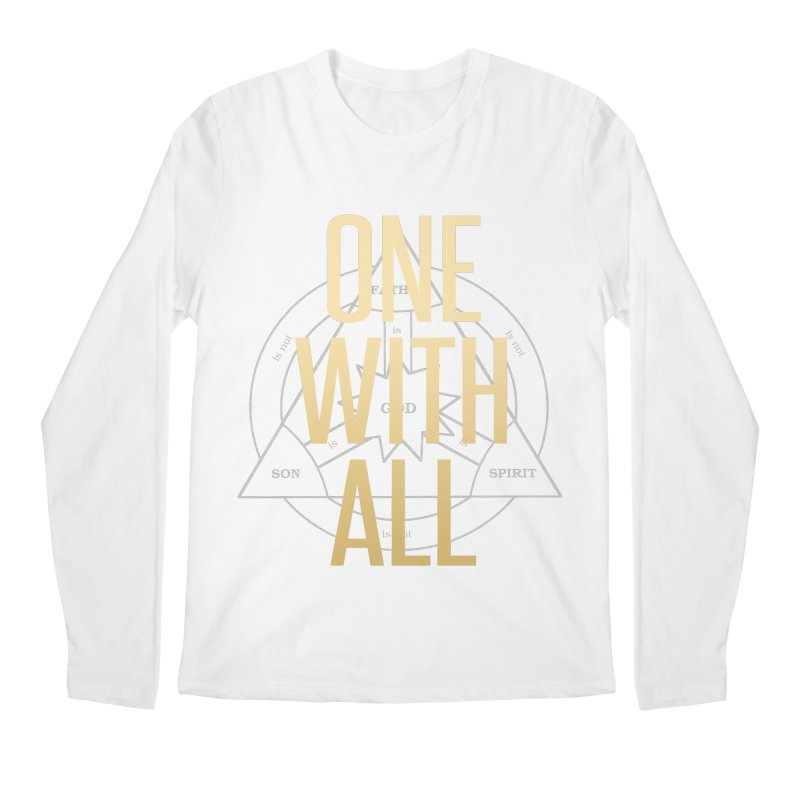 ONE WITH ALL Men's Longsleeve T-Shirt by tapintunein's Artist Shop