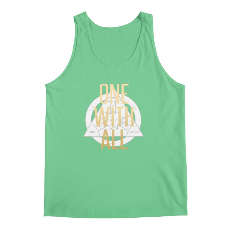 ONE WITH ALL Men's Tank by tapintunein's Artist Shop