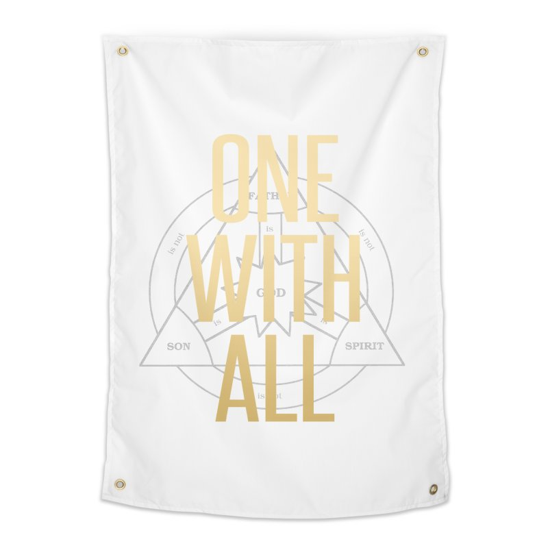 ONE WITH ALL Home Tapestry by tapintunein's Artist Shop
