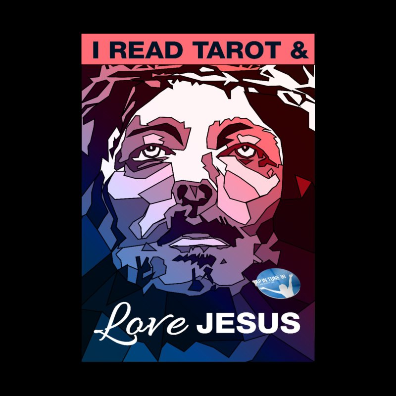 I Read Tarot & Love Jesus Men's Classic T-Shirt by tapintunein's Artist Shop