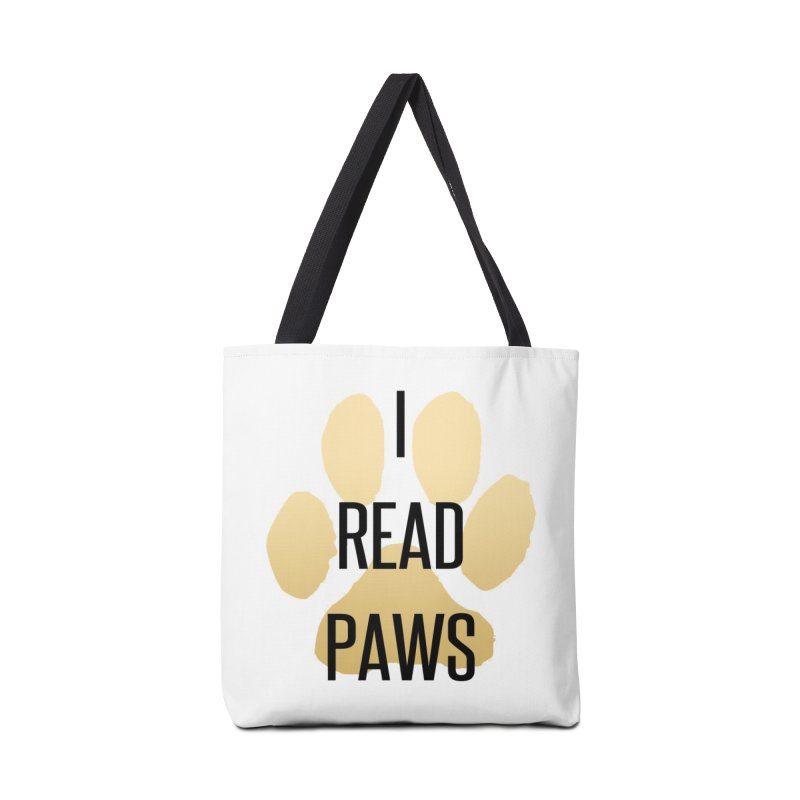 I Read Paws Accessories Bag by tapintunein's Artist Shop