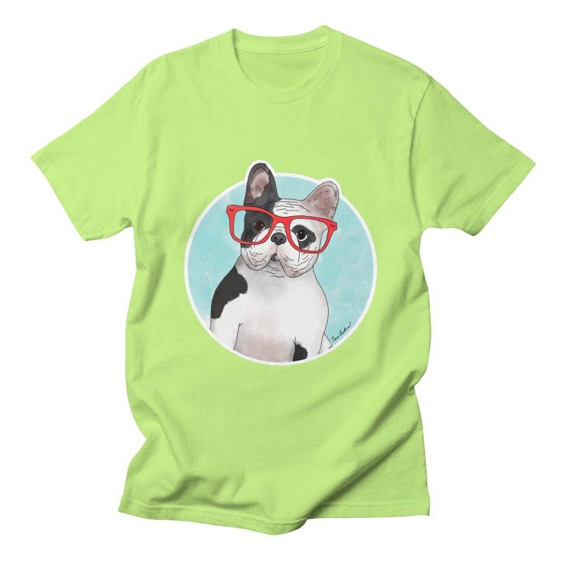 Beau the French Bulldog Men's T-Shirt by Tara Joy Andrews