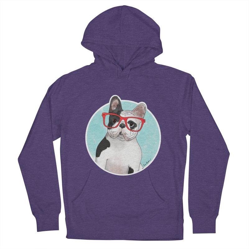 Beau the French Bulldog Women's Pullover Hoody by Tara Joy Andrews