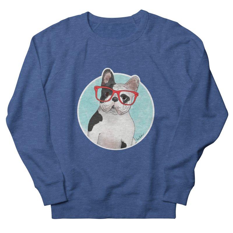 Beau the French Bulldog Men's Sweatshirt by Tara Joy Andrews