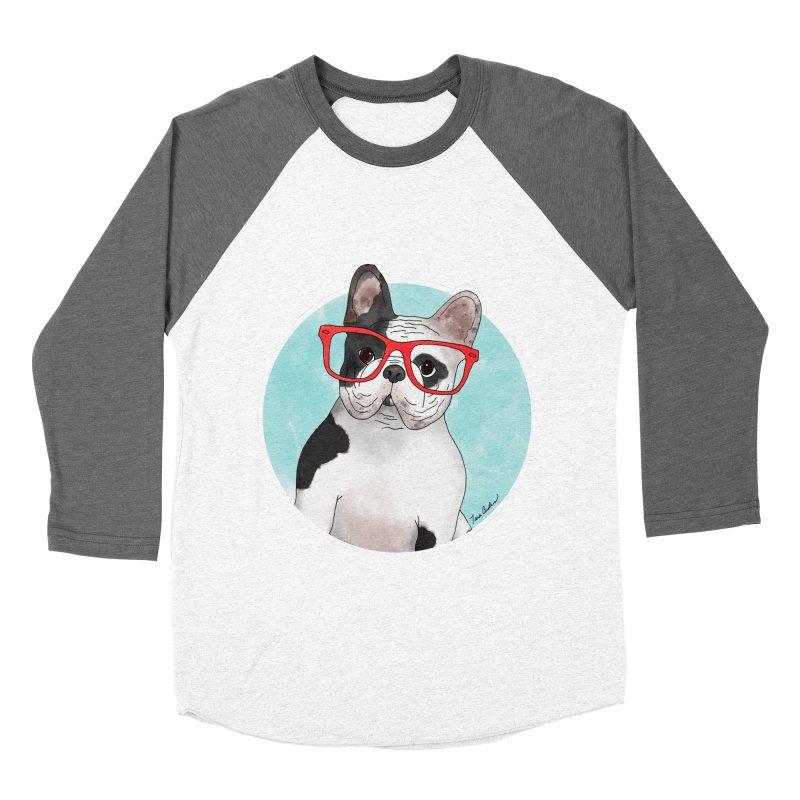Beau the French Bulldog Women's Longsleeve T-Shirt by Tara Joy Andrews