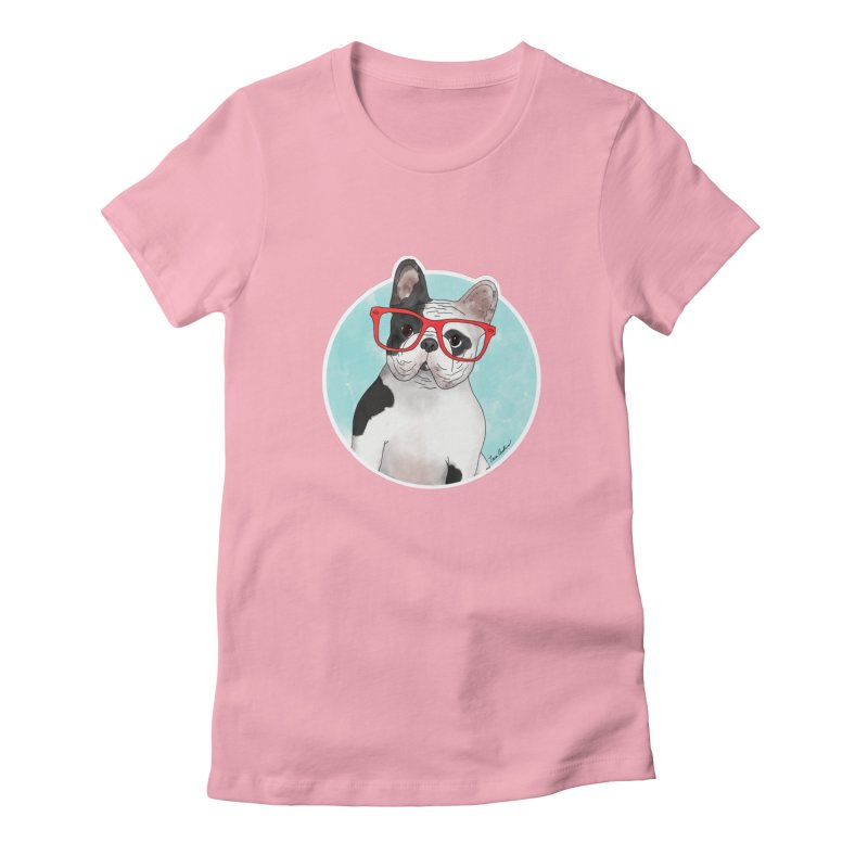 Beau the French Bulldog Women's T-Shirt by Tara Joy Andrews