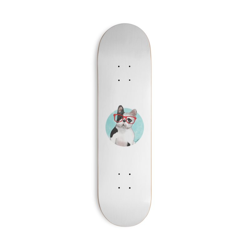 Beau the French Bulldog Accessories Skateboard by Tara Joy Andrews