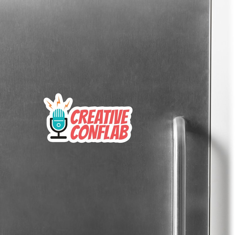 Creative Conflab podcast swag Accessories Magnet by Tara Joy Andrews