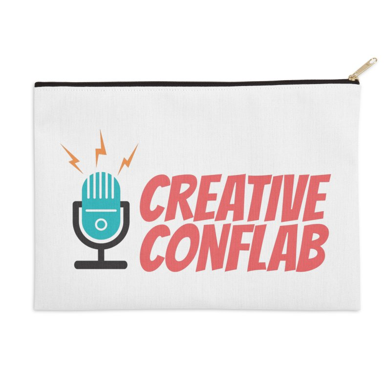 Creative Conflab podcast swag Accessories Zip Pouch by Tara Joy Andrews
