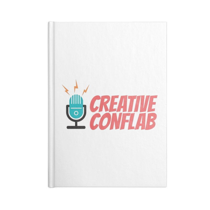 Creative Conflab podcast swag Accessories Notebook by Tara Joy Andrews