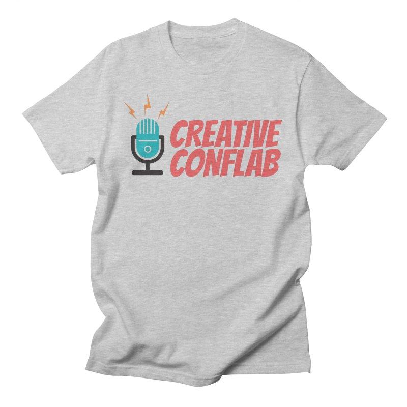 Creative Conflab podcast swag Men's T-Shirt by Tara Joy Andrews