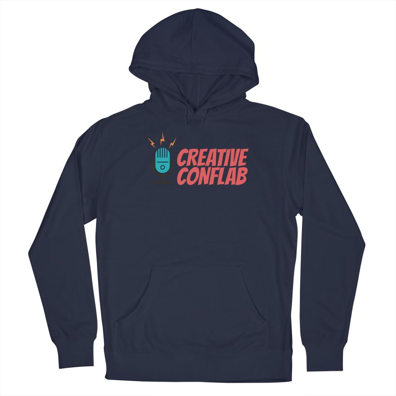 Creative Conflab podcast swag Men's Pullover Hoody by Tara Joy Andrews