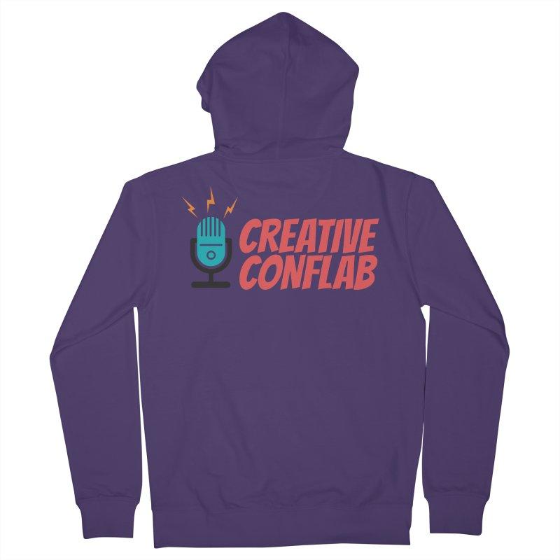 Creative Conflab podcast swag Women's Zip-Up Hoody by Tara Joy Andrews