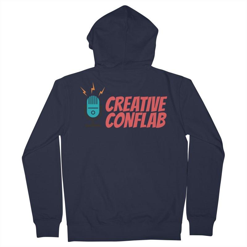 Creative Conflab podcast swag Men's Zip-Up Hoody by Tara Joy Andrews