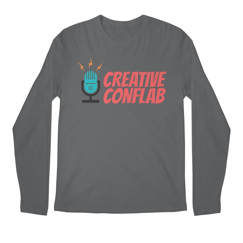 Creative Conflab podcast swag Men's Longsleeve T-Shirt by Tara Joy Andrews