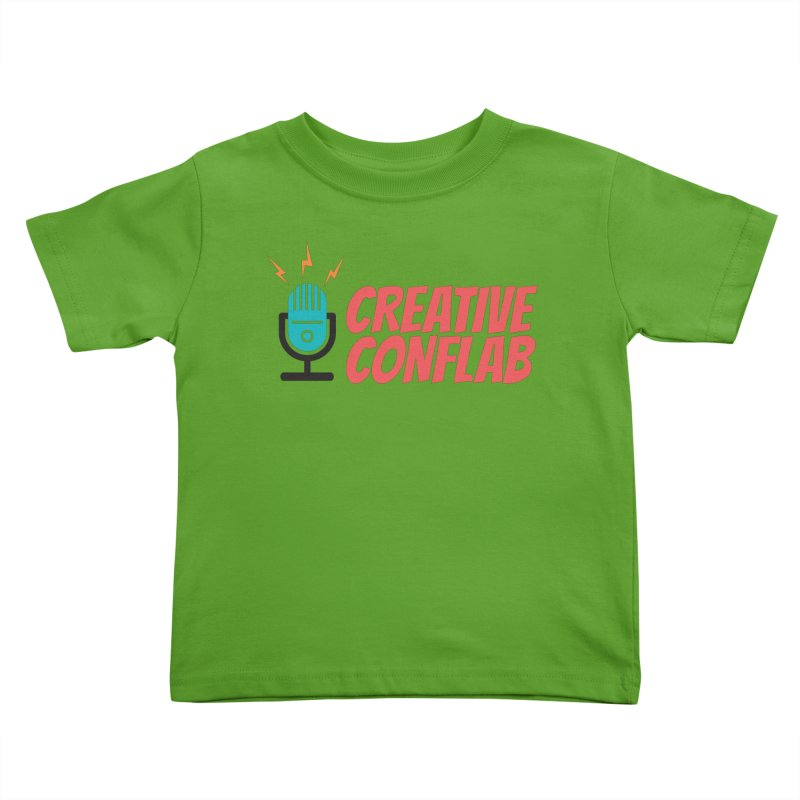 Creative Conflab podcast swag Kids Toddler T-Shirt by Tara Joy Andrews