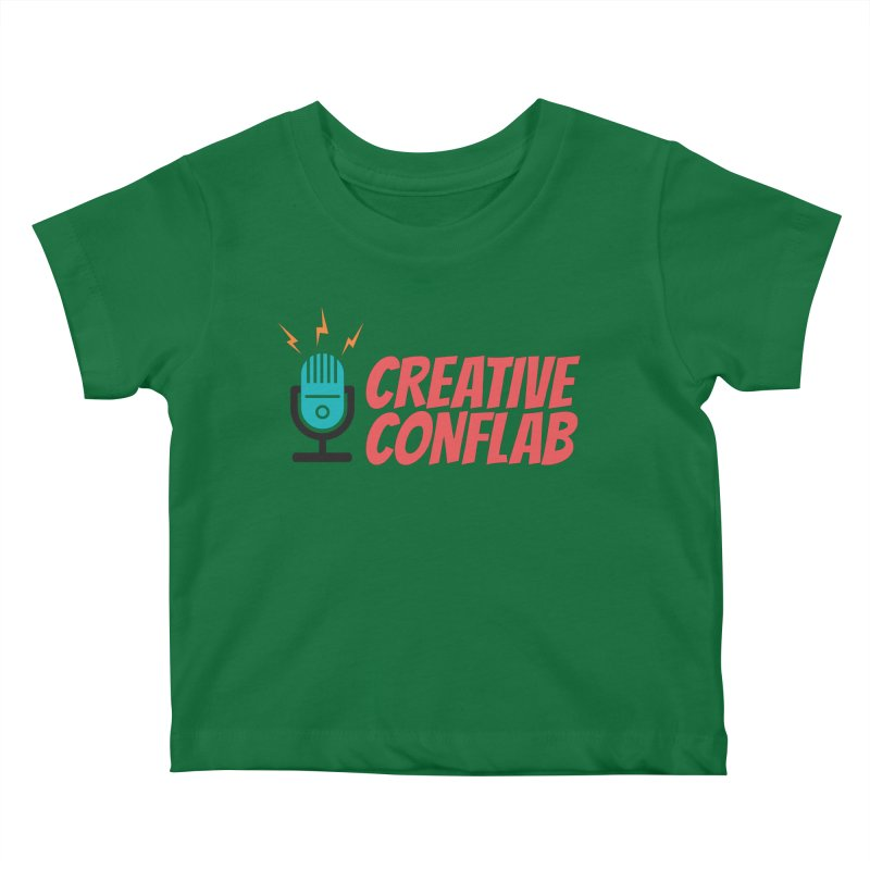 Creative Conflab podcast swag Kids Baby T-Shirt by Tara Joy Andrews