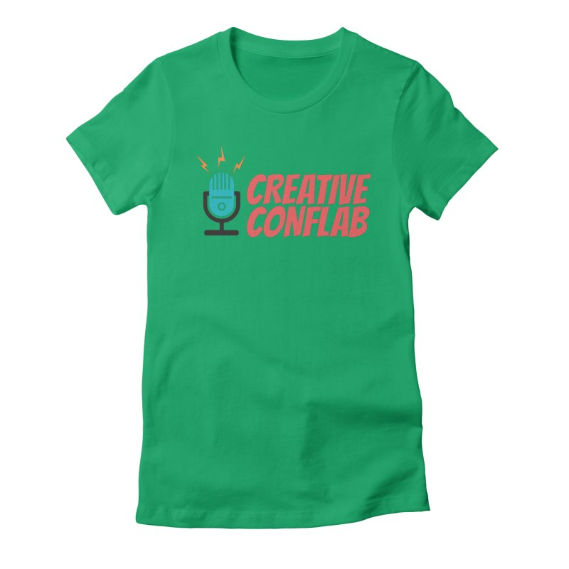Creative Conflab podcast swag Women's T-Shirt by Tara Joy Andrews