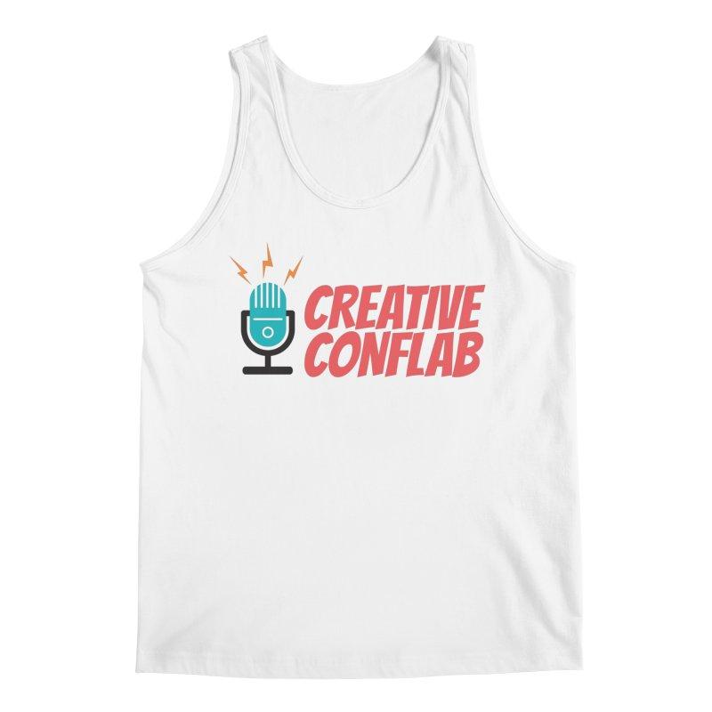 Creative Conflab podcast swag Men's Tank by Tara Joy Andrews