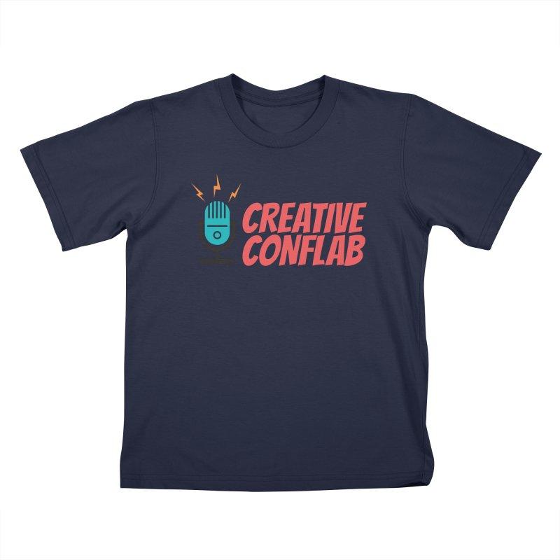 Creative Conflab podcast swag Kids T-Shirt by Tara Joy Andrews