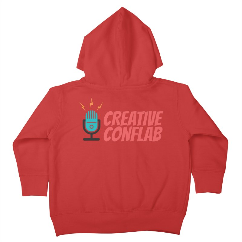 Creative Conflab podcast swag Kids Toddler Zip-Up Hoody by Tara Joy Andrews