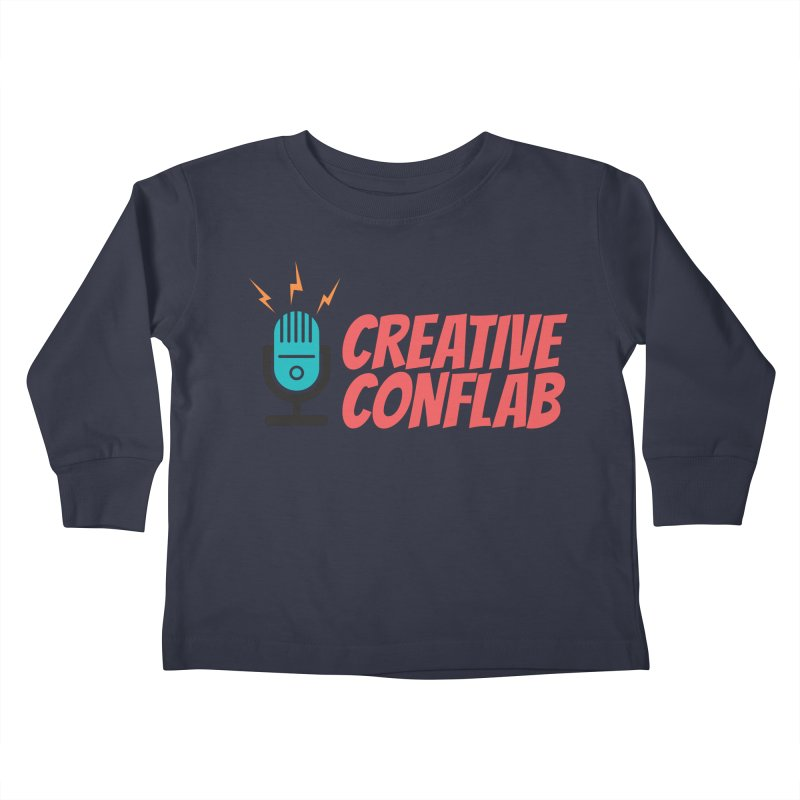 Creative Conflab podcast swag Kids Toddler Longsleeve T-Shirt by Tara Joy Andrews
