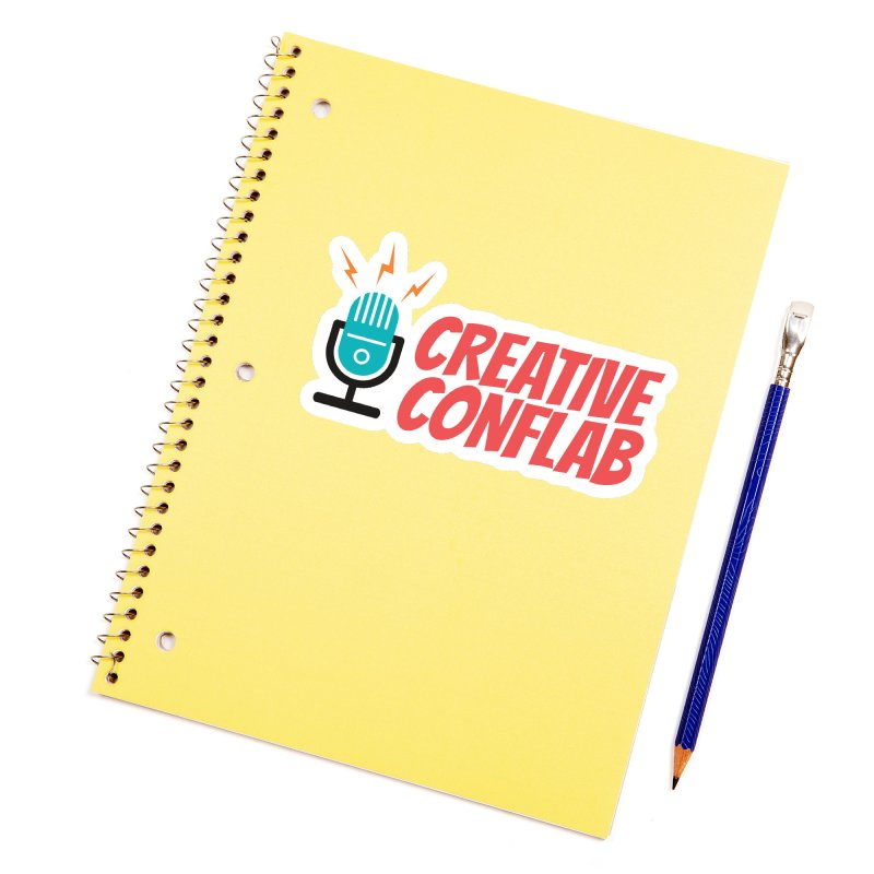 Creative Conflab podcast swag Accessories Sticker by Tara Joy Andrews