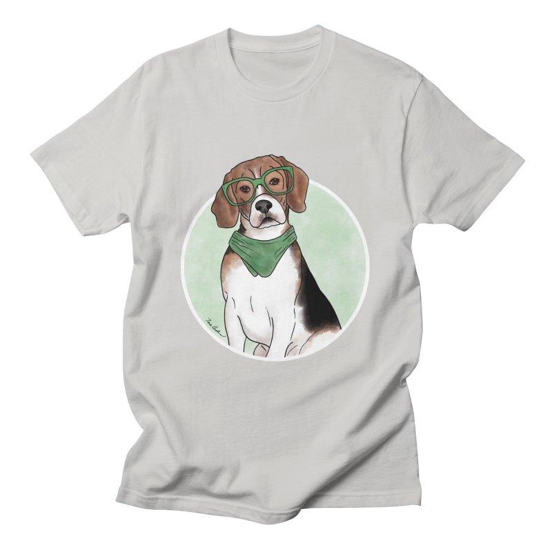 Blake the Beagle Men's T-Shirt by Tara Joy Andrews