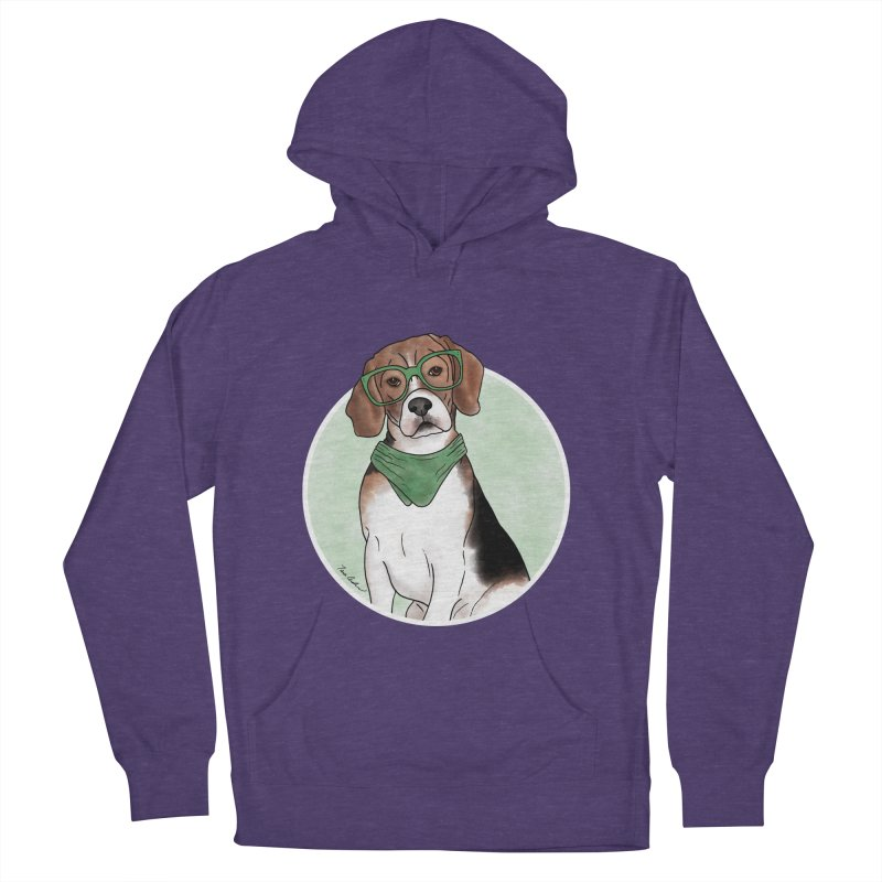 Blake the Beagle Women's French Terry Pullover Hoody by Tara Joy Andrews