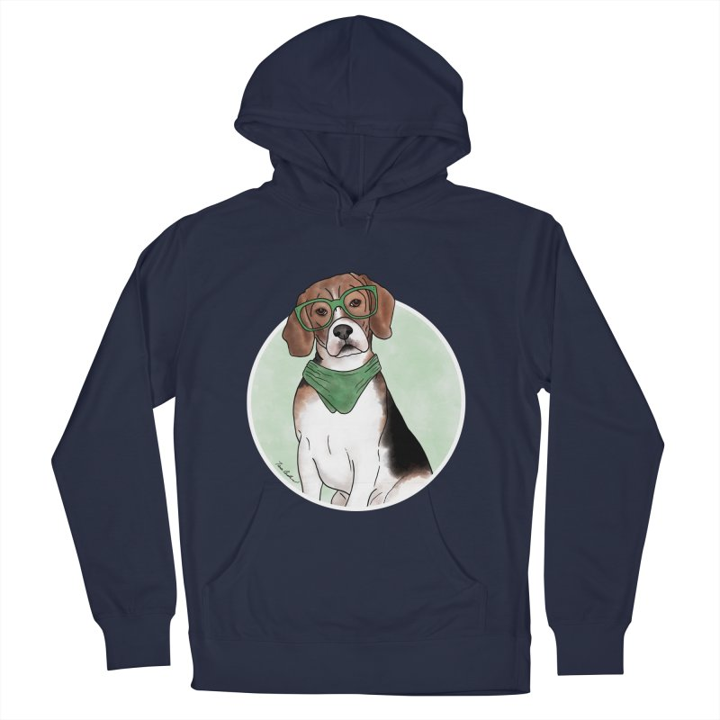 Blake the Beagle Women's French Terry Pullover Hoody by Tara Joy Andrews