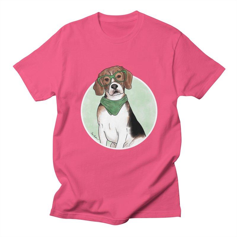 Blake the Beagle Men's Regular T-Shirt by Tara Joy Andrews