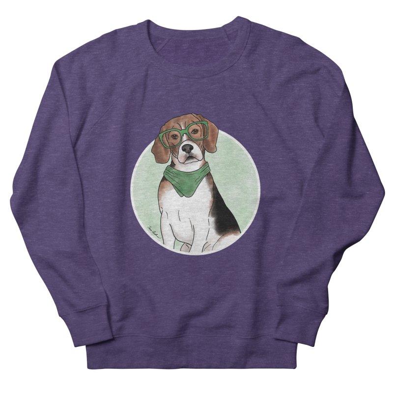 Blake the Beagle Men's French Terry Sweatshirt by Tara Joy Andrews