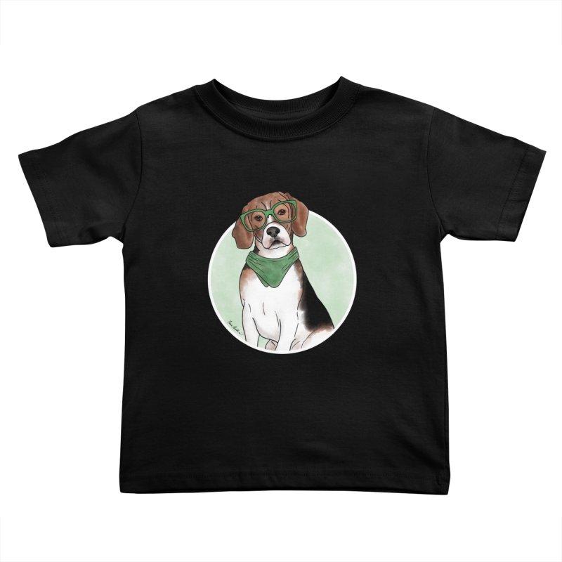Blake the Beagle Kids Toddler T-Shirt by Tara Joy Andrews