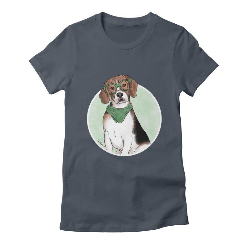 Blake the Beagle Women's T-Shirt by Tara Joy Andrews