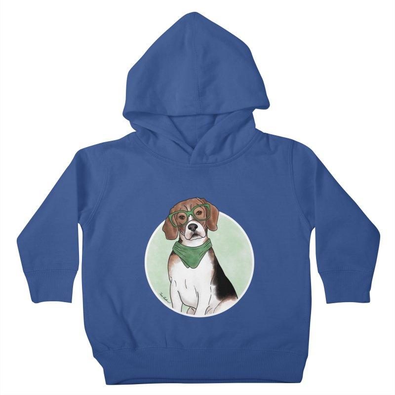 Blake the Beagle Kids Toddler Pullover Hoody by Tara Joy Andrews