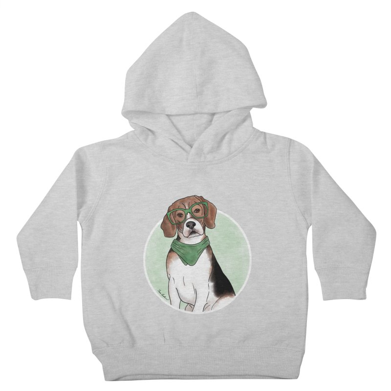 Blake the Beagle Kids Toddler Pullover Hoody by Tara Joy Andrews