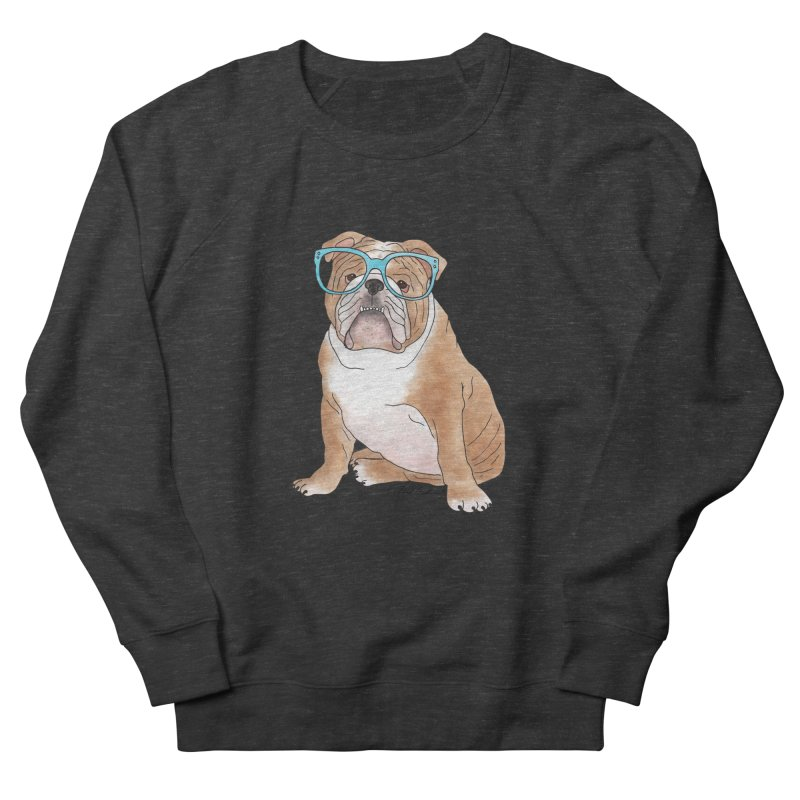Bruiser the English Bulldog Women's French Terry Sweatshirt by Tara Joy Andrews