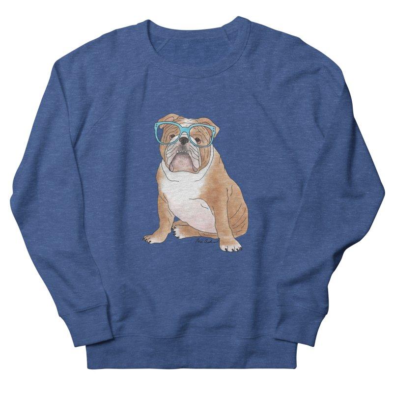 Bruiser the English Bulldog Women's French Terry Sweatshirt by Tara Joy Andrews