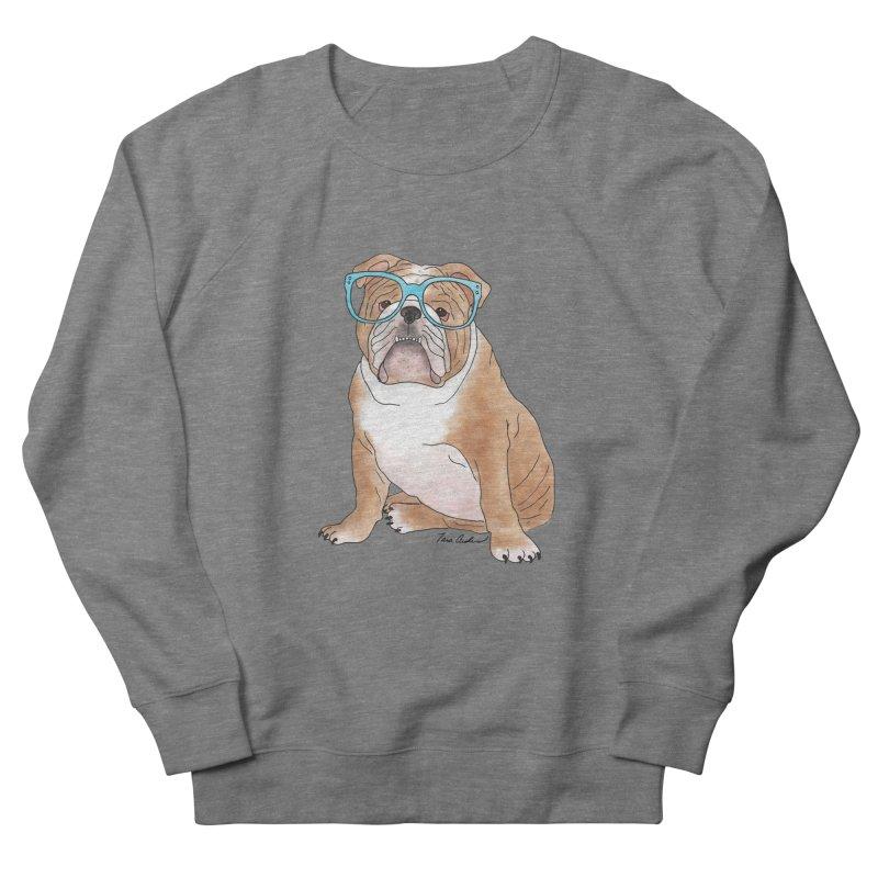 Bruiser the English Bulldog Men's French Terry Sweatshirt by Tara Joy Andrews