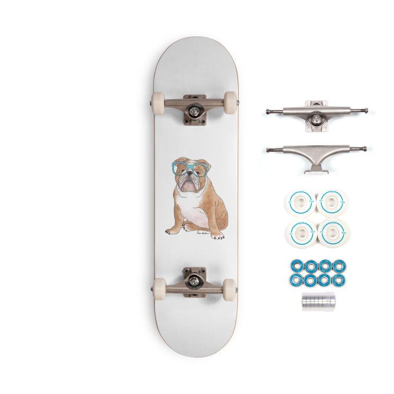 Bruiser the English Bulldog Accessories Complete - Basic Skateboard by Tara Joy Andrews