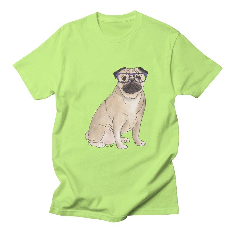 Milo the Pug Men's T-Shirt by Tara Joy Andrews