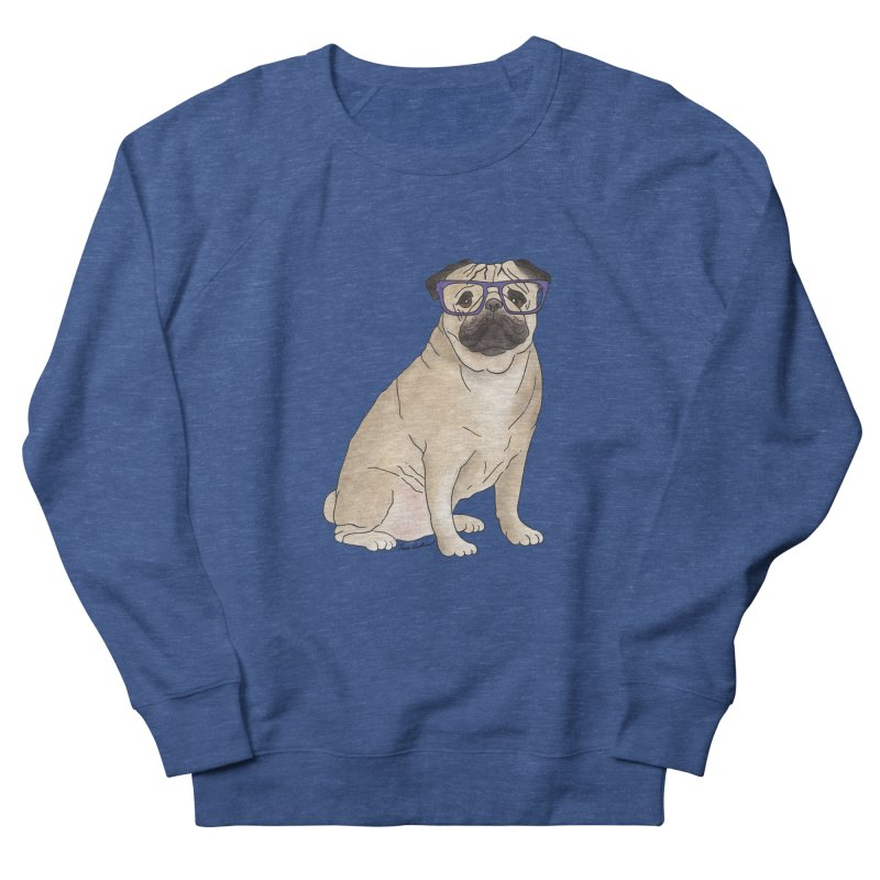 Milo the Pug Men's Sweatshirt by Tara Joy Andrews
