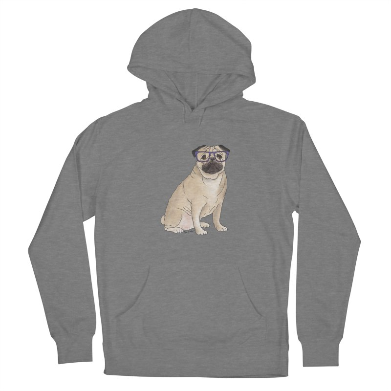 Milo the Pug Women's Pullover Hoody by Tara Joy Andrews