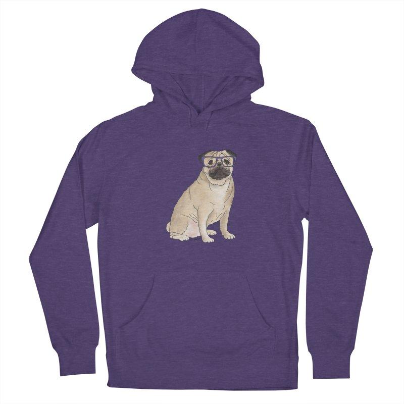 Milo the Pug Men's Pullover Hoody by Tara Joy Andrews