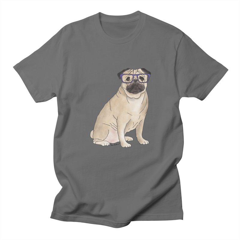 Milo the Pug Men's T-Shirt by Tara Joy Andrews