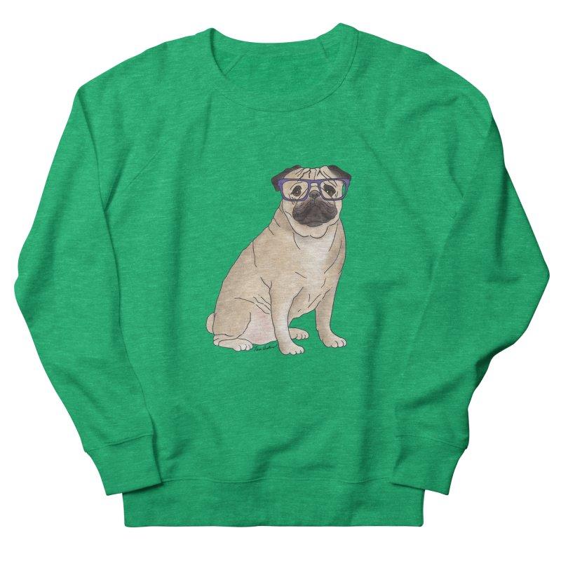 Milo the Pug Women's Sweatshirt by Tara Joy Andrews